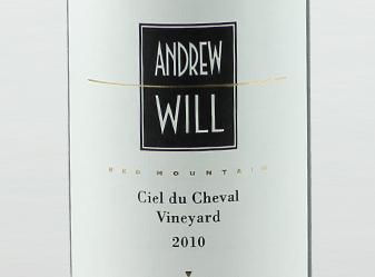 2010 Andrew Will Ciel du Cheval Vyd