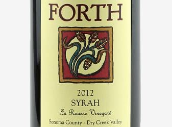 2012 Forth Vineyards Syrah