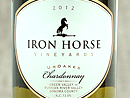 2012 Iron Horse Unoaked Chardonnay