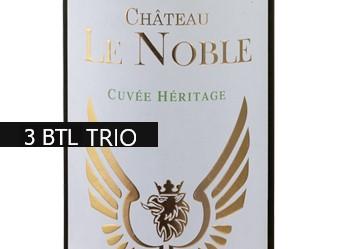 2016 Château Le Noble Heritage TRIO