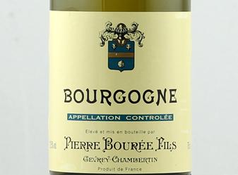 2011 Pierre Bouree Bourgogne Blanc