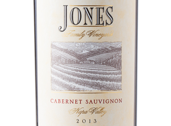 2013 Jones Family Vnyds Estate Cab