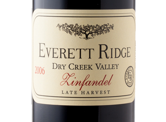 2006 Everett Ridge Zin Half Bottle