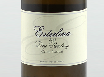 2013 Esterlina Dry Riesling