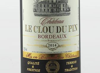 2014 Château Le Clou du Pin Supérior