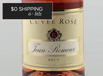 Jean Remour Sparkling Brut Rosé NV