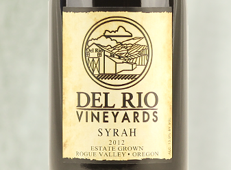 2012 Del Rio Estate Syrah
