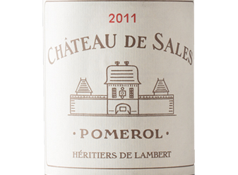 2011 Château de Sales Pomerol
