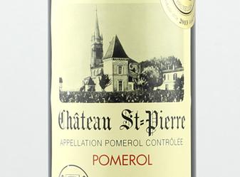 2012 Château Saint-Pierre Pomerol
