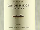 2010 Canoe Ridge Rsv Cabernet Sauv