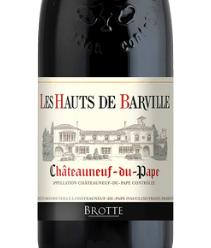 2016 BROTTE Les Hauts de Barville AOP