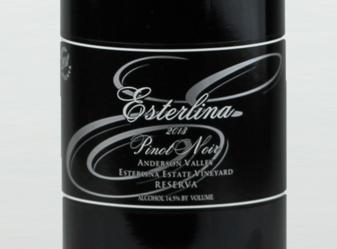2010 Esterlina Reserve Pinot Noir
