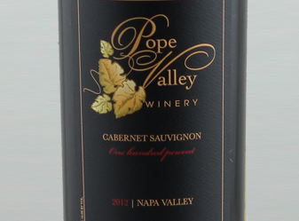 2012 Pope Valley One Hundred Percent