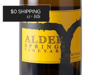 2011 Alder Springs Row 5 Chardonnay