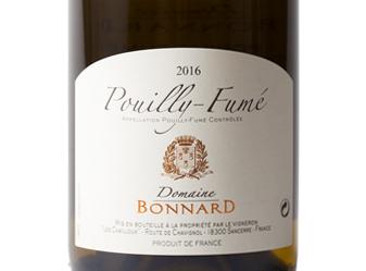 2016 Domaine Bonnard Pouilly-Fumé