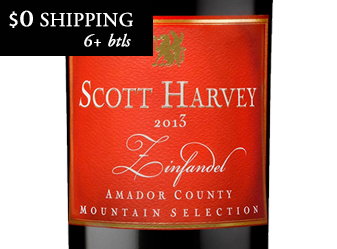 2013 Scott Harvey Zinfandel