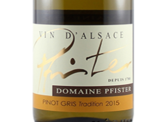 2015 Pfister Pinot Gris Tradition