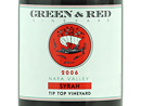 2006 Green & Red Tip Top Vineyard Syrah