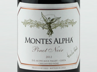 2012 Montes Alpha Pinot Noir