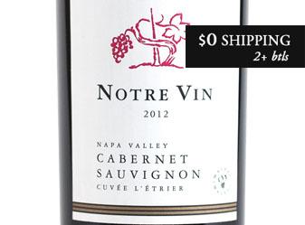 2012 Notre Vin Cabernet Sauvignon