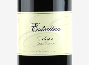 2002 Esterlina Estate Merlot