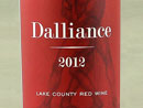 2011 Shannon Ridge Dalliance Red