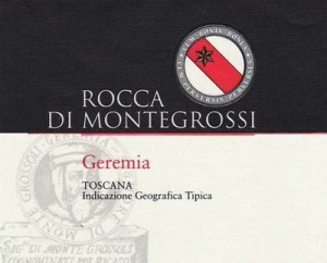 2014 Rocca Montegrossi 'Geremia'