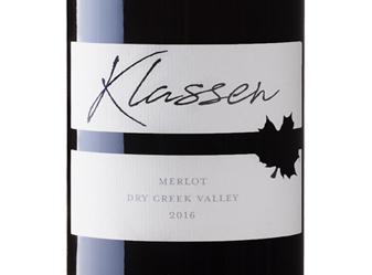 2016 Klassen Merlot
