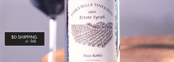 2009 Terra Bella Estate Syrah