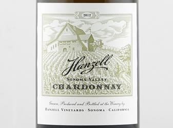 2012 Hanzell Chardonnay