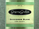 2012 Gregory Graham Sauvignon Blanc