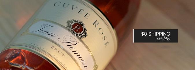 NV Jean Remour Sparkling Brut Rosé