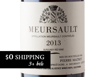 2013 P. Matrot Meursault Rouge