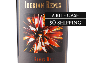 2013 Iberian Remix Red  ½ Case