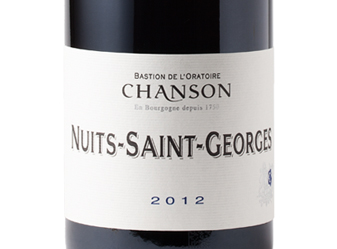 2012 Domaine Chanson Nuits St. George