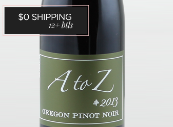 2013 A to Z Pinot HALF BOTTLE