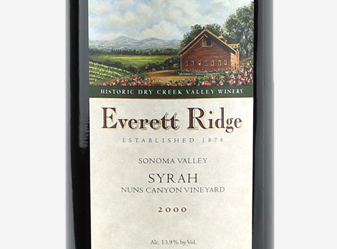 2000 Everett Ridge Syrah