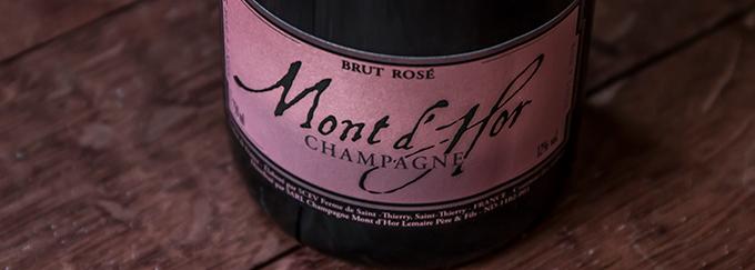 NV Mont d' Hor Champagne Brut Rosé