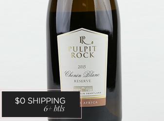 2015 Pulpit Rock Reserve Chenin Blanc