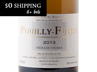 2013 Domaine Auvigue Pouilly Fuisse