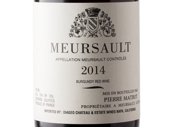 2014 Pierre Matrot Meursault Rouge
