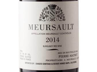 2014 P. Matrot Meursault Rouge
