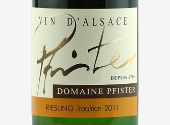 2011 Pfister Riesling Tradition