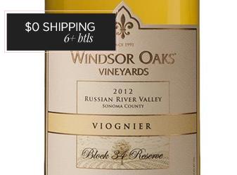 2012 Windsor Oaks Reserve Viognier