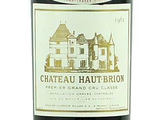 1961 Chateau Haut Brion