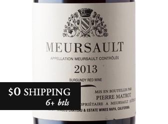 2013 Pierre Matrot Meursault Rouge