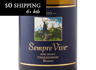 2015 Sempre Vive Reserve Chardonnay