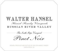 2016 Walter Hansel 'South Slope'