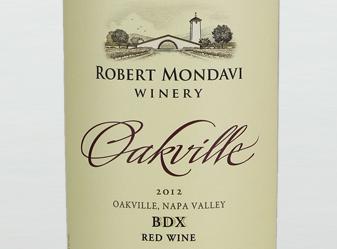 2012 Robert Mondavi BDX