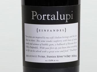 2014 Portalupi Zinfandel